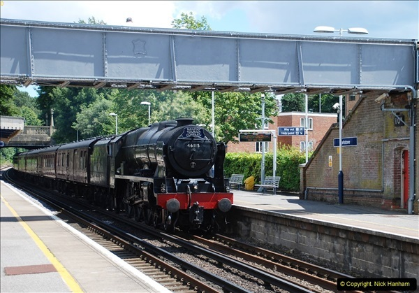 2016-07-14 The Swanage Belle @ Parkstone. Poole, Dorset.  (5)080