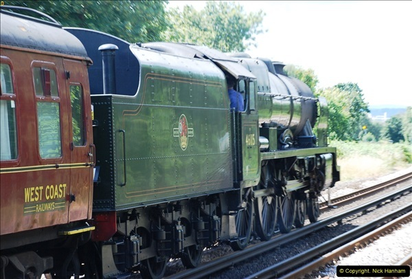 2016-07-14 The Swanage Belle @ Parkstone. Poole, Dorset.  (8)083