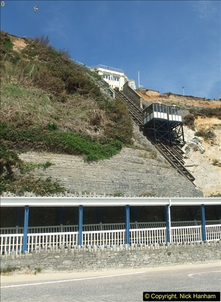 2016-05-05 Recent cliff fall in Bournemouth causing damage to the Victorian Cliff Lift. (2)087