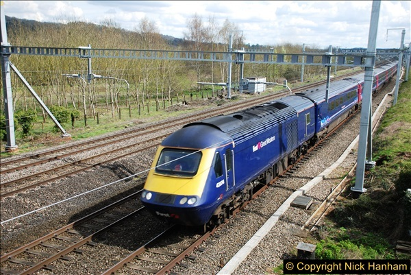 2016-04-14 GW Main Line near Pangbourne, Berkshire.  (18)0125