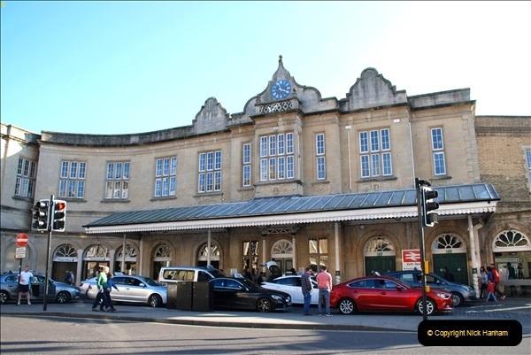 2018-10-21 Bath Spa Station, Bath, Somerset.   (6)370
