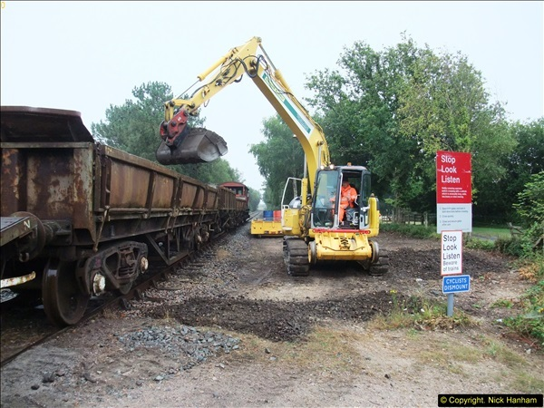 2015-08-10 SR New Section Work on the 08. (95)636