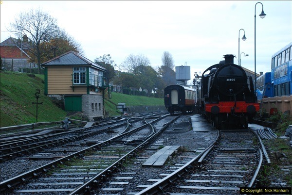 2015-11-04 SR Steam Photo. Charter with 30053 & Harmans Cross Station.  (3)271