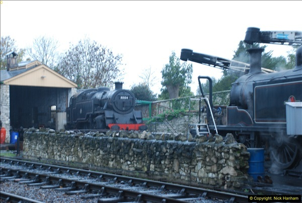 2015-11-04 SR Steam Photo. Charter with 30053 & Harmans Cross Station.  (4)272