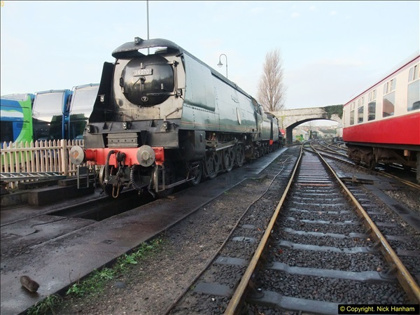 2015-12-06 Driving the DMU on Santa Special.  (9)009