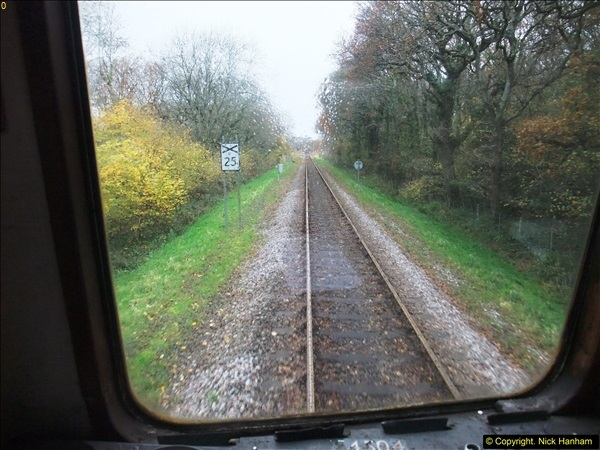 2015-12-06 Driving the DMU on Santa Special.  (64)064