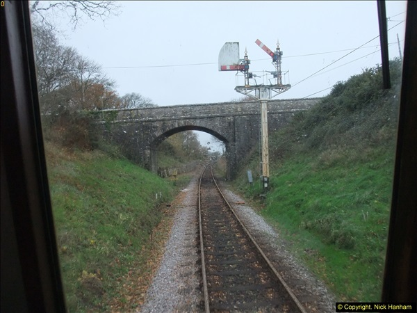 2015-12-06 Driving the DMU on Santa Special.  (67)067