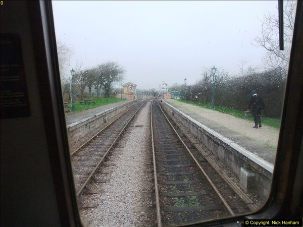 2015-12-06 Driving the DMU on Santa Special.  (68)068