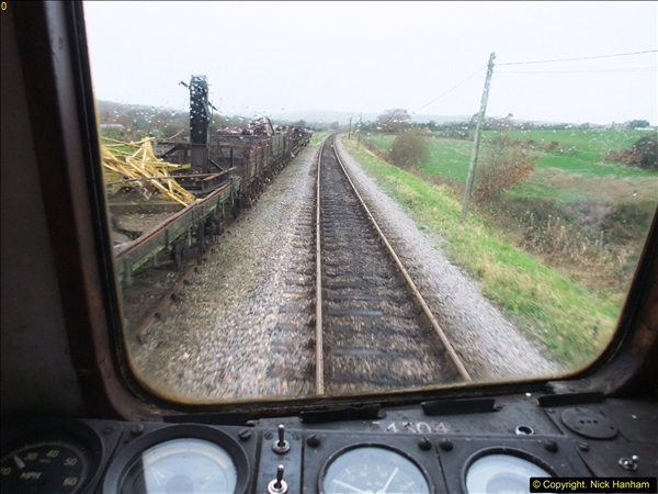2015-12-06 Driving the DMU on Santa Special.  (69)069