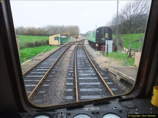 2015-12-06 Driving the DMU on Santa Special.  (73)073