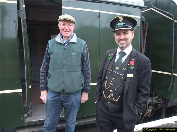 2015-12-06 Driving the DMU on Santa Special.  (76)076