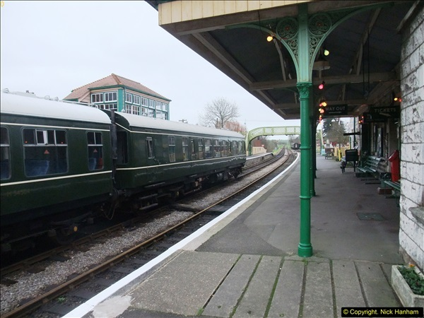 2015-12-06 Driving the DMU on Santa Special.  (77)077