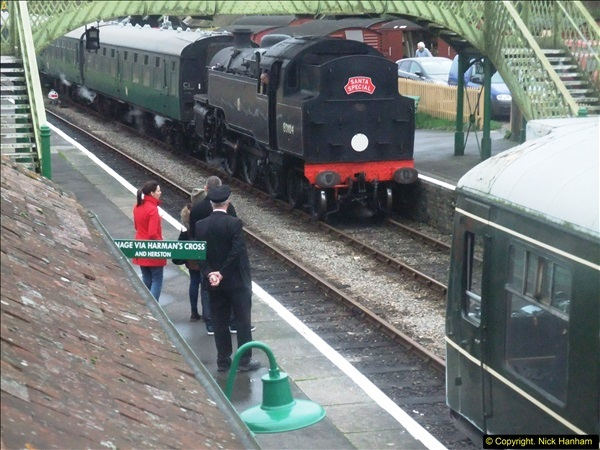 2015-12-06 Driving the DMU on Santa Special.  (88)088