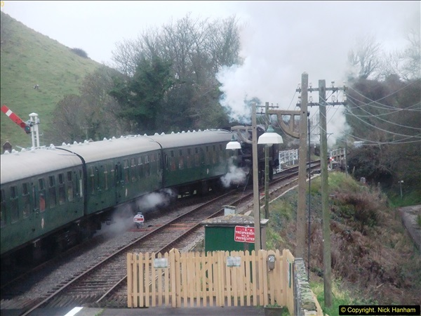 2015-12-06 Driving the DMU on Santa Special.  (91)091