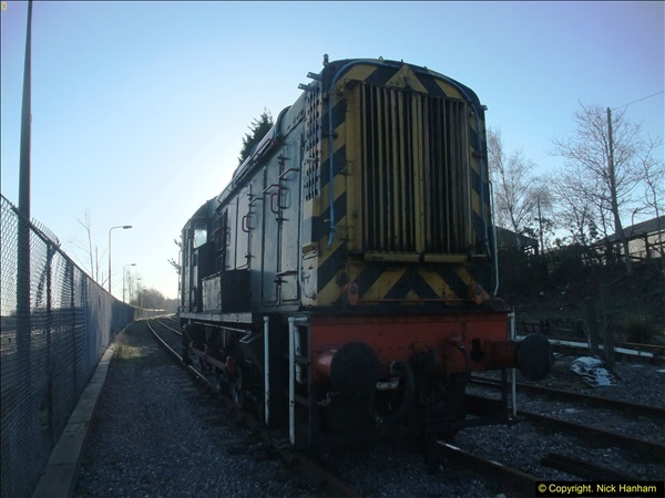 2016-02-15 SR Engineering work on the new section for the Wareham link.  (4)080