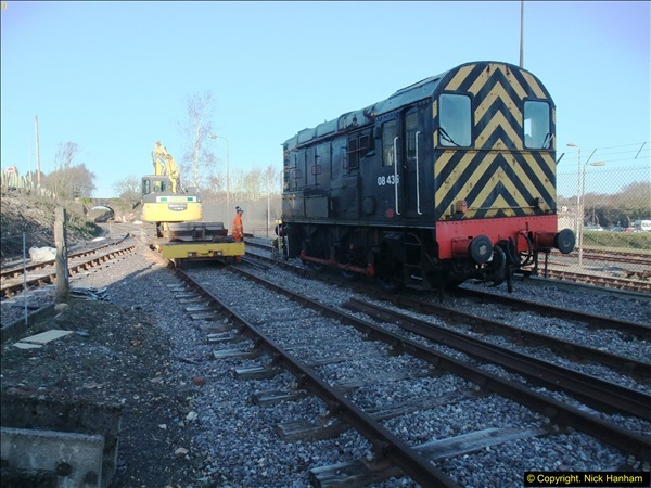 2016-02-15 SR Engineering work on the new section for the Wareham link.  (7)083
