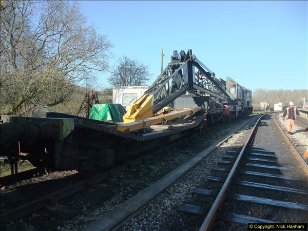 2016-02-15 SR Engineering work on the new section for the Wareham link.  (14)090