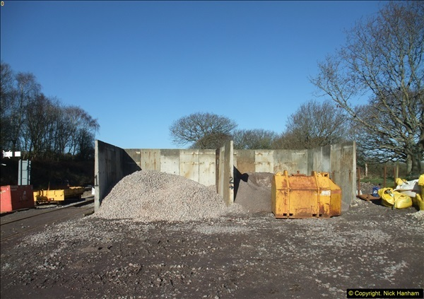 2016-02-15 SR Engineering work on the new section for the Wareham link.  (20)096