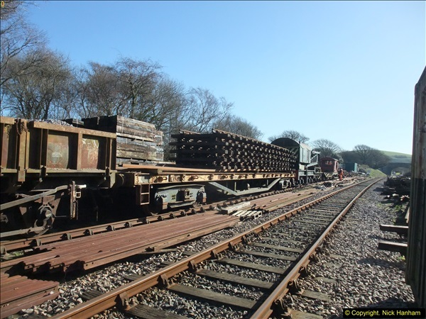 2016-02-15 SR Engineering work on the new section for the Wareham link.  (36)112