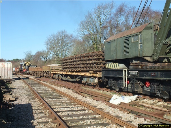 2016-02-15 SR Engineering work on the new section for the Wareham link.  (40)116