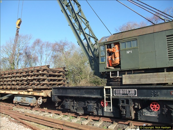 2016-02-15 SR Engineering work on the new section for the Wareham link.  (41)117