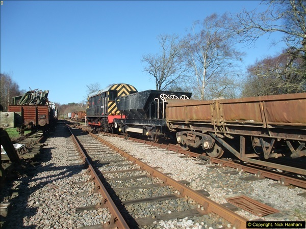 2016-02-15 SR Engineering work on the new section for the Wareham link.  (58)134