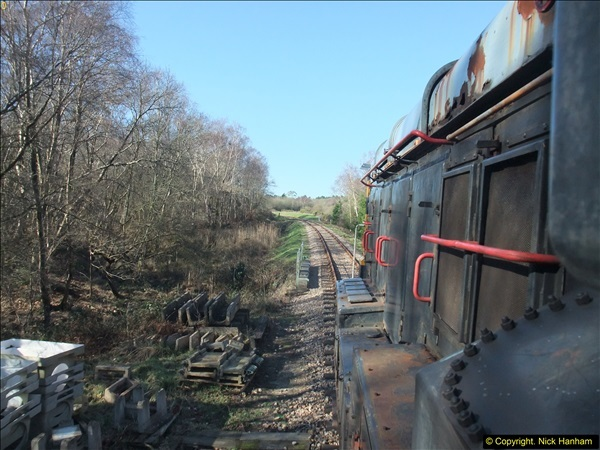 2016-02-15 SR Engineering work on the new section for the Wareham link.  (63)139