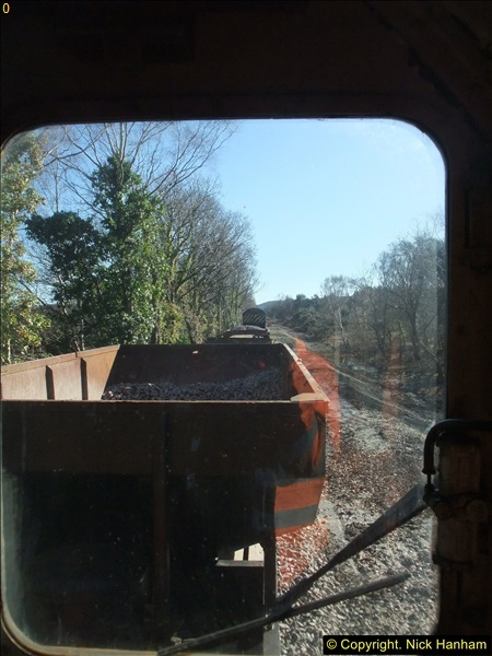 2016-02-15 SR Engineering work on the new section for the Wareham link.  (78)154