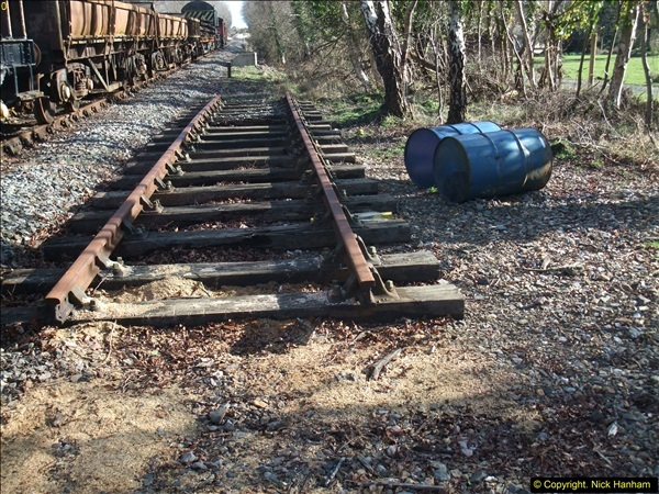 2016-02-15 SR Engineering work on the new section for the Wareham link.  (120)196