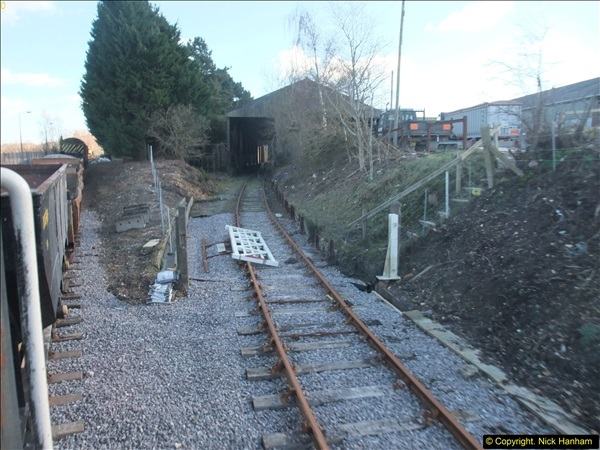2016-02-15 SR Engineering work on the new section for the Wareham link.  (122)198