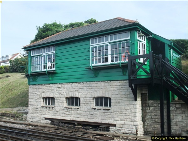 2016-07-21 DMU Turn and Warner Brothers film site set up at Swanage. (4)0285