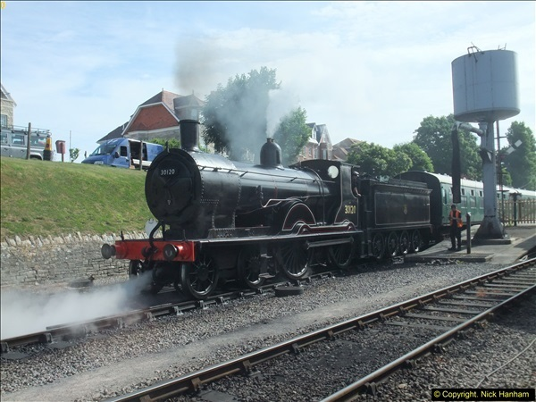 2016-07-21 DMU Turn and Warner Brothers film site set up at Swanage. (8)0289