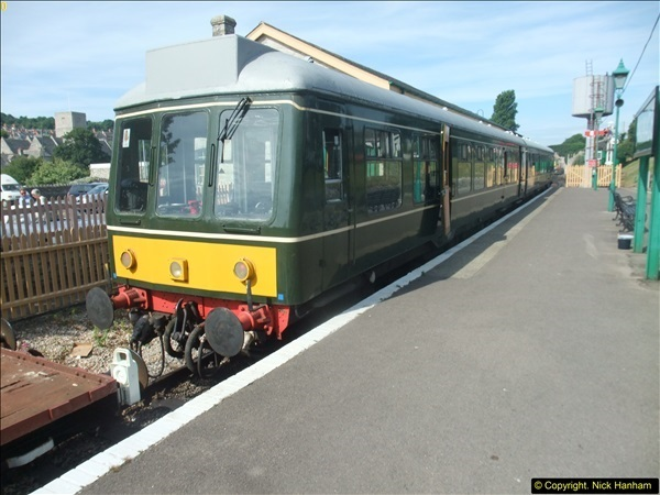 2016-07-21 DMU Turn and Warner Brothers film site set up at Swanage. (11)0292