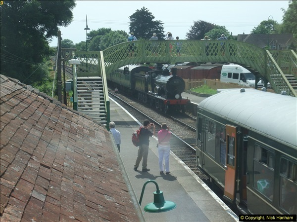 2016-07-21 DMU Turn and Warner Brothers film site set up at Swanage. (18)0299