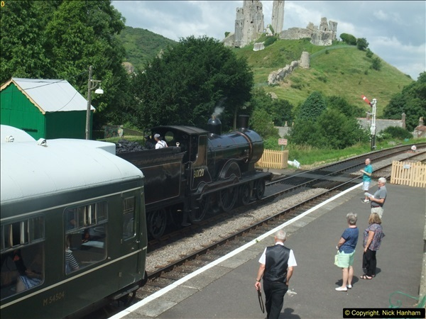 2016-07-21 DMU Turn and Warner Brothers film site set up at Swanage. (19)0300