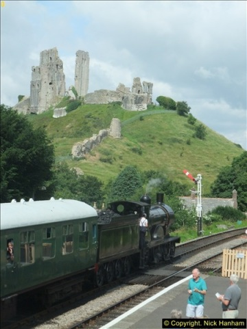 2016-07-21 DMU Turn and Warner Brothers film site set up at Swanage. (20)0301