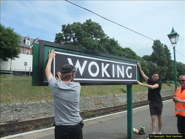 2016-07-21 DMU Turn and Warner Brothers film site set up at Swanage. (27)0308