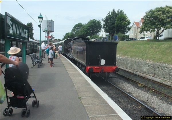 2016-07-21 DMU Turn and Warner Brothers film site set up at Swanage. (47)0328