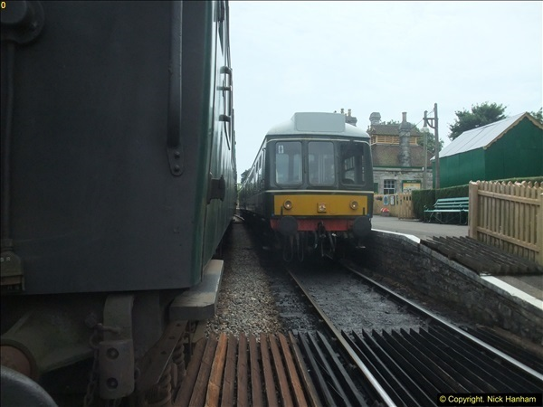 2016-07-21 DMU Turn and Warner Brothers film site set up at Swanage. (50)0331