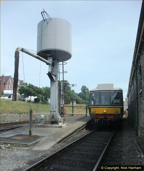 2016-07-21 DMU Turn and Warner Brothers film site set up at Swanage. (68)0349
