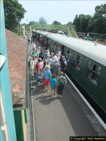 2016-07-21 DMU Turn and Warner Brothers film site set up at Swanage. (70)0351
