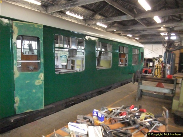 2016-07-21 DMU Turn and Warner Brothers film site set up at Swanage. (83)0364