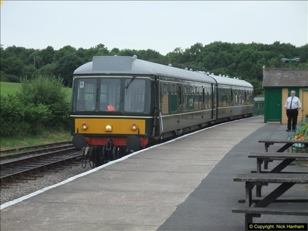 2016-07-21 DMU Turn and Warner Brothers film site set up at Swanage. (93)0374