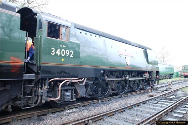 2017-03-31 The Swanage Railway Strictly Bulleid Gala.  (5)005