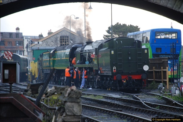 2017-03-31 The Swanage Railway Strictly Bulleid Gala.  (8)008