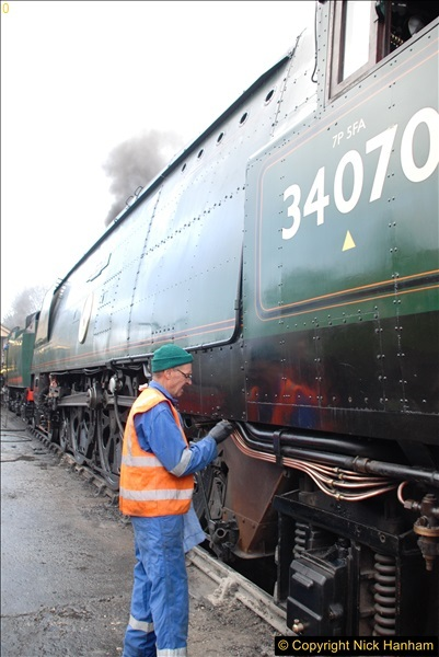 2017-03-31 The Swanage Railway Strictly Bulleid Gala.  (18)018