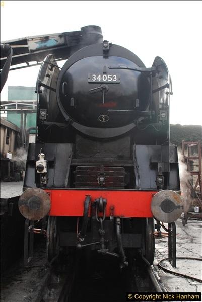 2017-03-31 The Swanage Railway Strictly Bulleid Gala.  (56)056