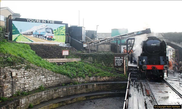 2017-03-31 The Swanage Railway Strictly Bulleid Gala.  (59)059