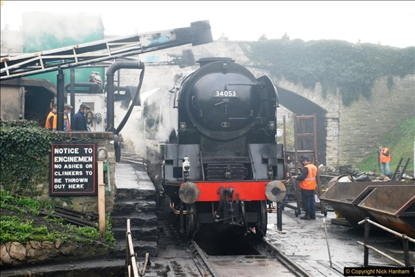 2017-03-31 The Swanage Railway Strictly Bulleid Gala.  (61)061