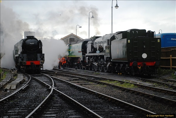 2017-03-31 The Swanage Railway Strictly Bulleid Gala.  (67)067